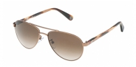 Carolina Herrera SHE047 0R80 HAVANA BROWN GRADIENT