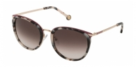 CAROLINA HERRERA SHE131 09BB HAVANA WHITE/BLACK