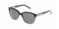 Carolina Herrera SHE595 0AT4 BLACK/BLUE / GRAY