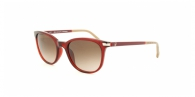 Carolina Herrera SHE650 06DC GARNET/BEIGE BROWN GRADIENT