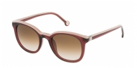 CAROLINA HERRERA  SHE654-0V01 LIGHT PINK / GARNET