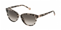 Carolina Herrera SHE688 0M65 LIGHT HAVANA / BROWN GRADIENT