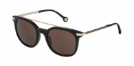 Carolina Herrera SHE690 700 GOLDEN BLACK / BLACK