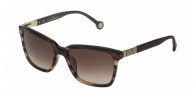 Carolina Herrera SHE692 06HN DARK BROWN / BROWN GRADIENT