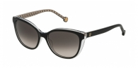 Carolina Herrera SHE694 0Z32 BLACK INT. BEIGE