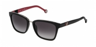 Carolina Herrera SHE699 700 BLACK INT. RED