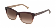 Carolina Herrera SHE701 0AH7 GARNET / BROWN GRADIENT
