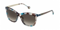 CAROLINA HERRERA SHE746 0AM5 BLUE / BEIGE