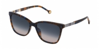 CAROLINA HERRERA SHE828 0ADT BLUE / HAVANA