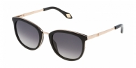 CAROLINA HERRERA NEW YORK  SHN032-300F GOLD BLACK LENTE GREY GRADIENT