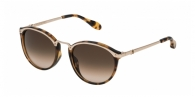 CAROLINA HERRERA NEW YORK SHN041M 0300 GOLDEN HAVANA