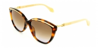 CAROLINA HERRERA NEW YORK  SHN560-09AJ LIGHT PINK/BROWN GRADIENT