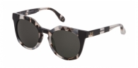 CAROLINA HERRERA NEW YORK SHN595 09BB HAVANA WHITE/BLACK