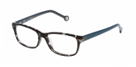 Carolina Herrera VHE634 OAM5 TOP HAVANA GREEN AND BLUE
