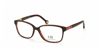Carolina Herrera VHE659 09XK RED/DARK HAVANA