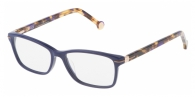 Carolina Herrera VHE661 0991 TOP BLUE AND HAVANA