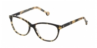 Carolina Herrera VHE713 0AGG BLACK / LIGHT HAVANA