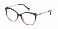 CAROLINA HERRERA VHE783 09D2 BROWN+OPALINE PINK
